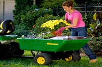 Carry, Haul & Move Material Riding Mower Attachments
