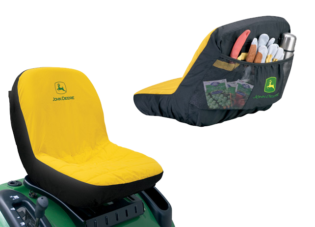 John Deere Riding Mower Seat Covers With Pockets : John deere riding mower seat cover tractor protection