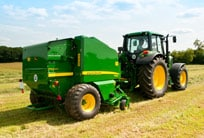 644 Fixed Chamber baler