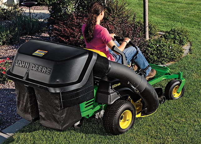 EZtrak Zero-Turn Mowers Collection Capacity