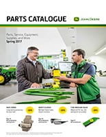 John Deere Parts Catalogue 2017