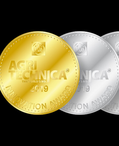Agritechnica gold and silver award icons