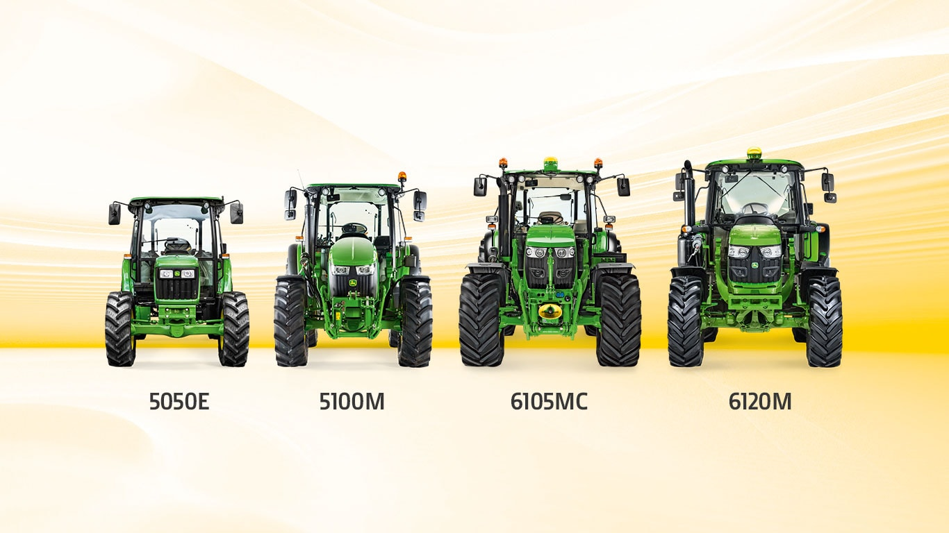 Pick a tractor, make it yours