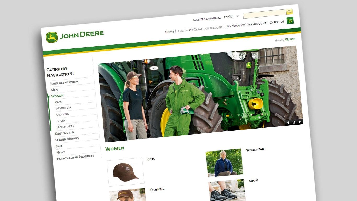 John Deere Gifts >> Online Shop John Deere Uk Ie