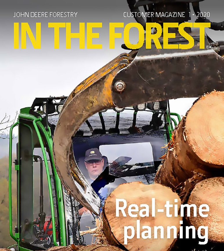 Cover of In The Forest customer magazine