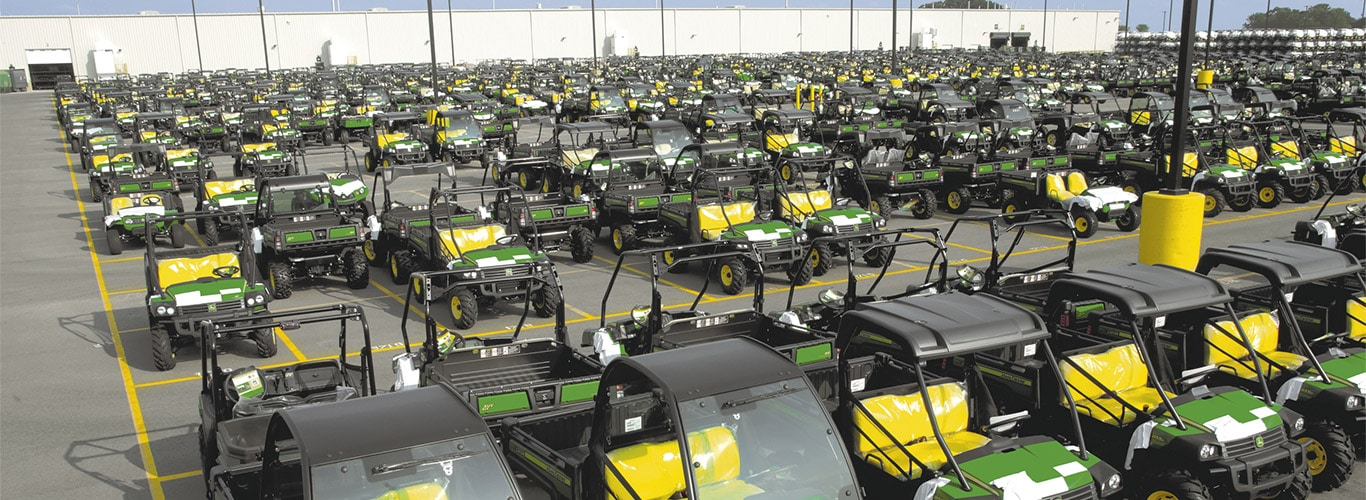 Gator Utility Vehicles, Factory, Parking Ground
