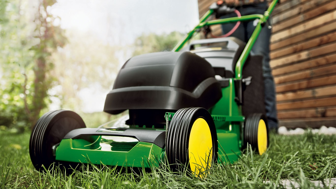 Electric Walk Behind Mowers John Deere Tt