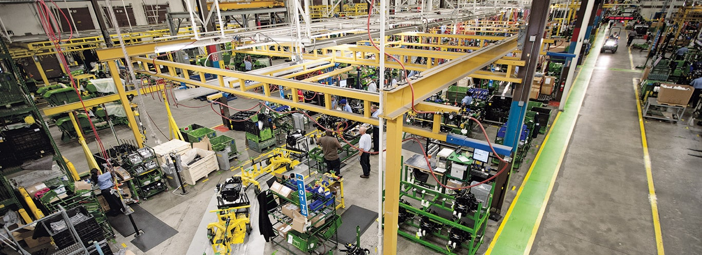 Factories Augusta, Compact Utility Tractors, Interiors