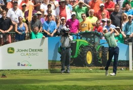 The 2016 John Deere Classic held in the US has been voted the PGA TOUR's Tournament of the Year.