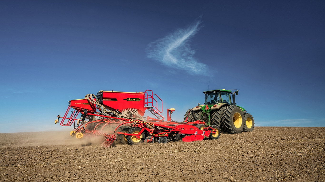 John Deere announces partnership with Väderstad in Russia and Ukraine