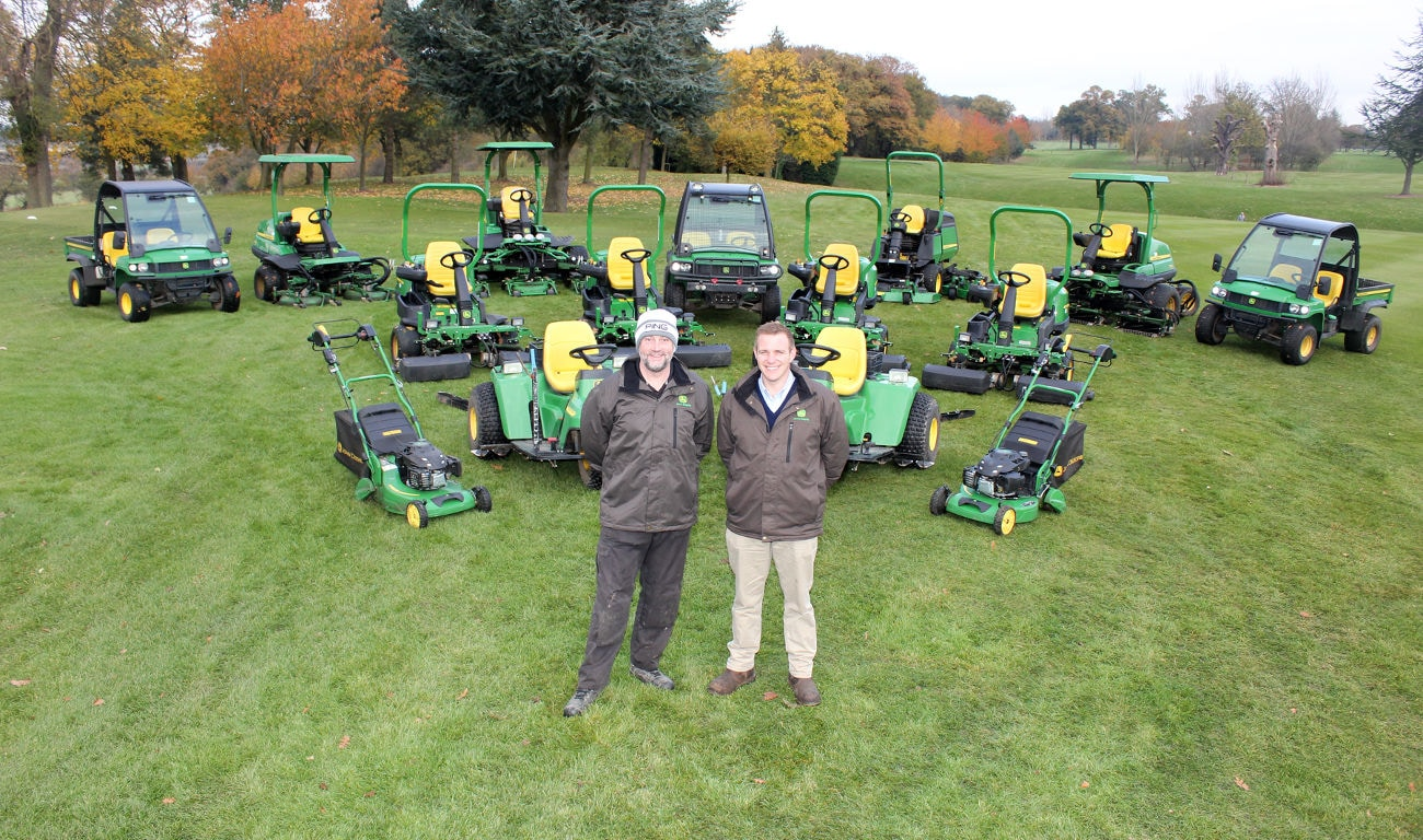 PING partners John Deere at Gainsborough Golf Club