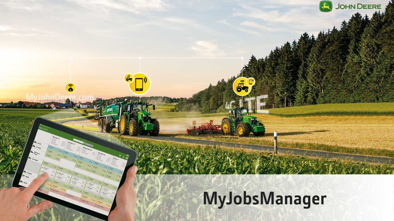 John Deere's latest apps make it very easy to keep track of machinery and monitor productivity.