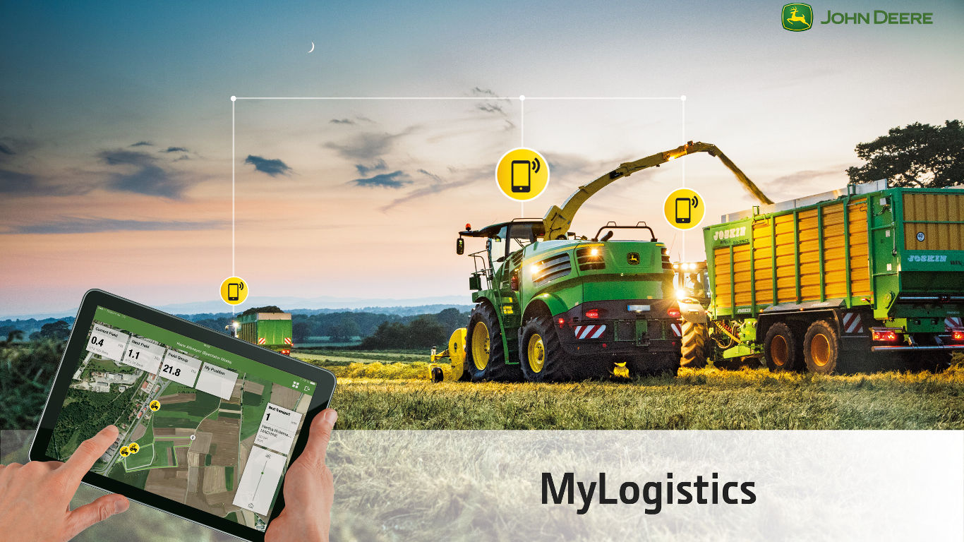 A John Deere contractor survey has showed that a connectivity package can save costs, increase work rates and reduce errors.