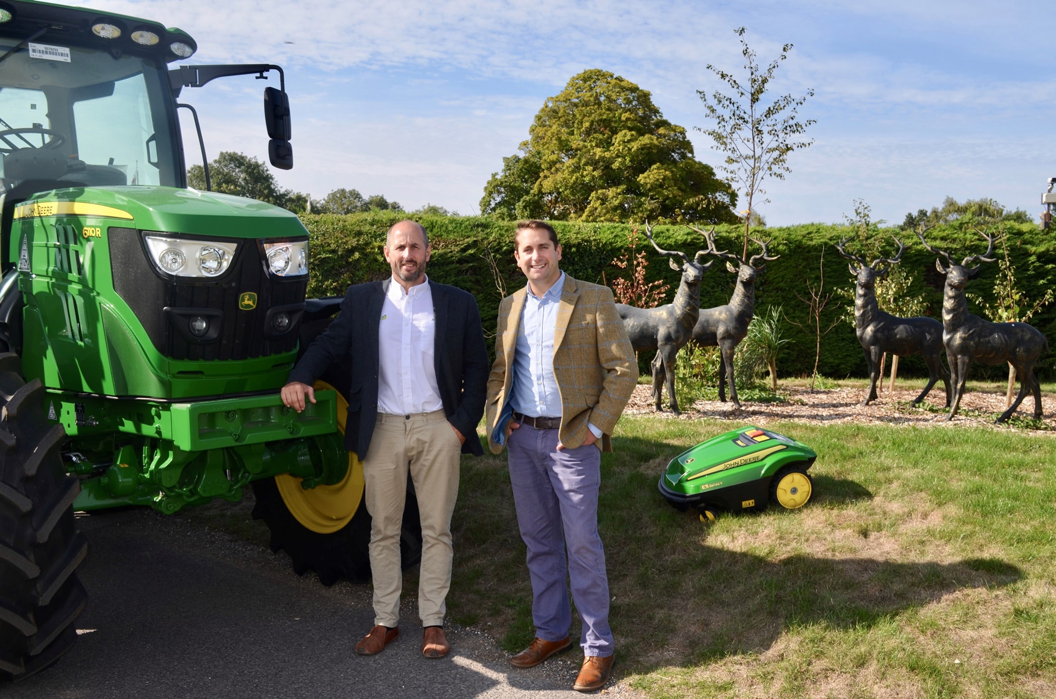Hunt & New Forest agree John Deere dealership merger