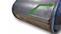 JohnDeere bowl lip Fiber-reinforced bowl lip