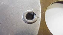 JohnDeere riveted joints are heat-treated
