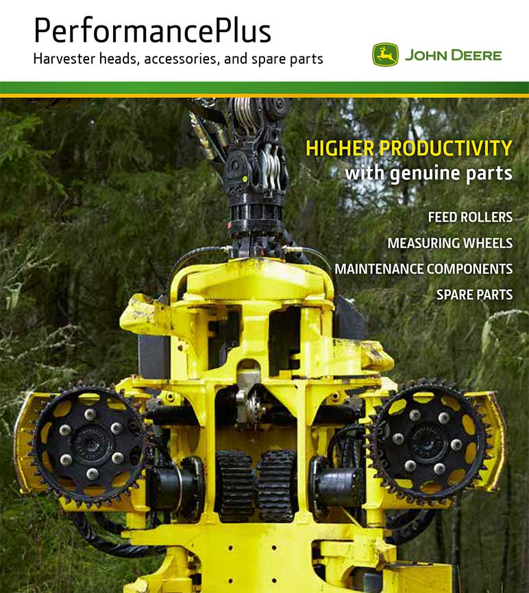 Performance Plus Harvester heads catalogue
