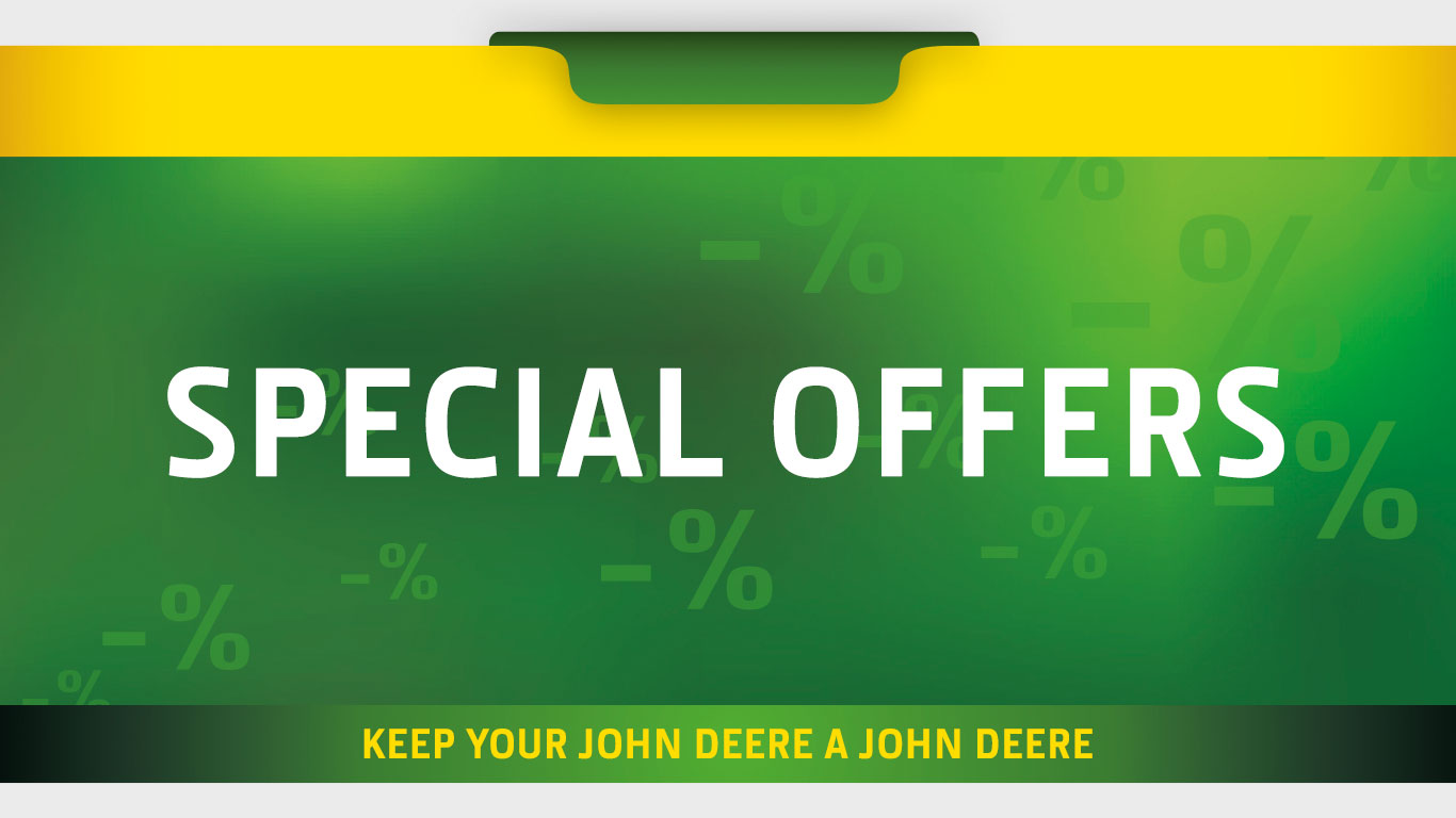 John Deere Forestry parts and accessories offers