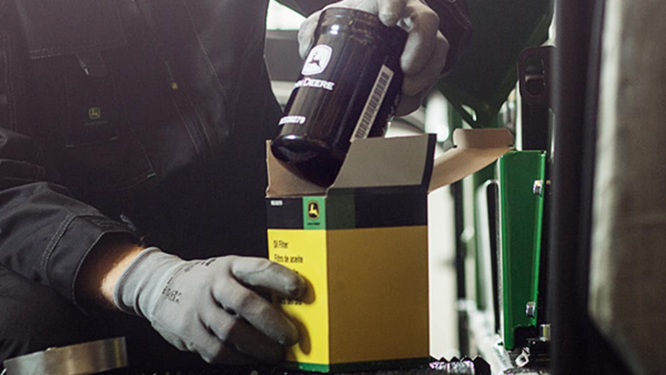 Regular oil sample analysis helps monitor machine's technical condition.