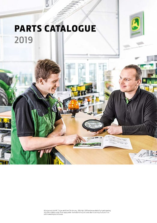 John Deere Parts Catalogue 2019
