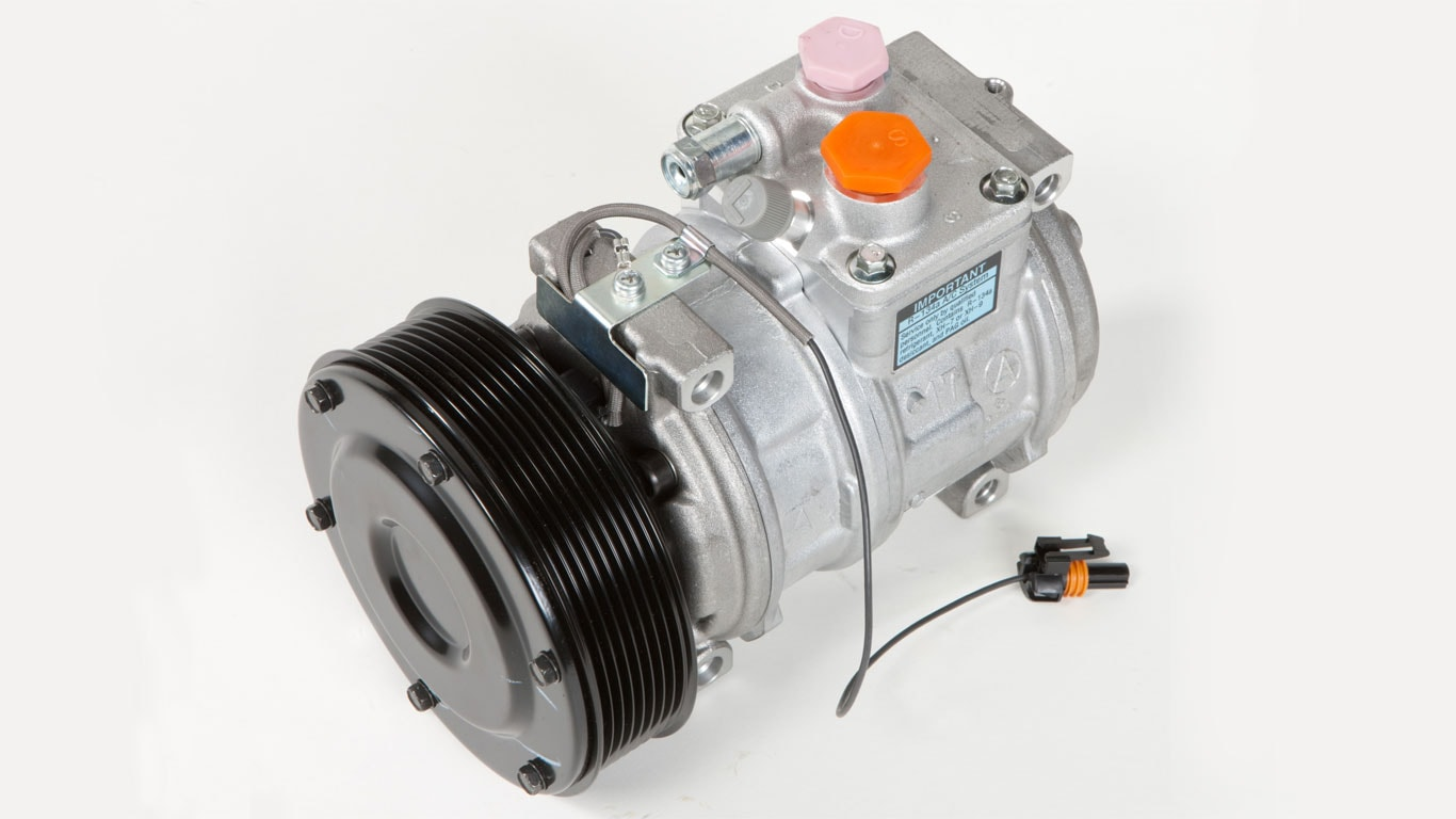 Air-conditioning compressor