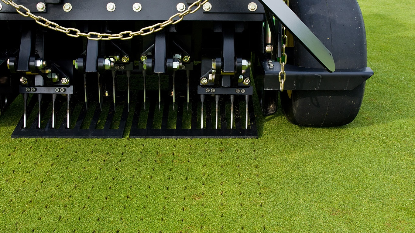 Golf And Sports, Walk Behind And Mounted Aerators, Field, Tines