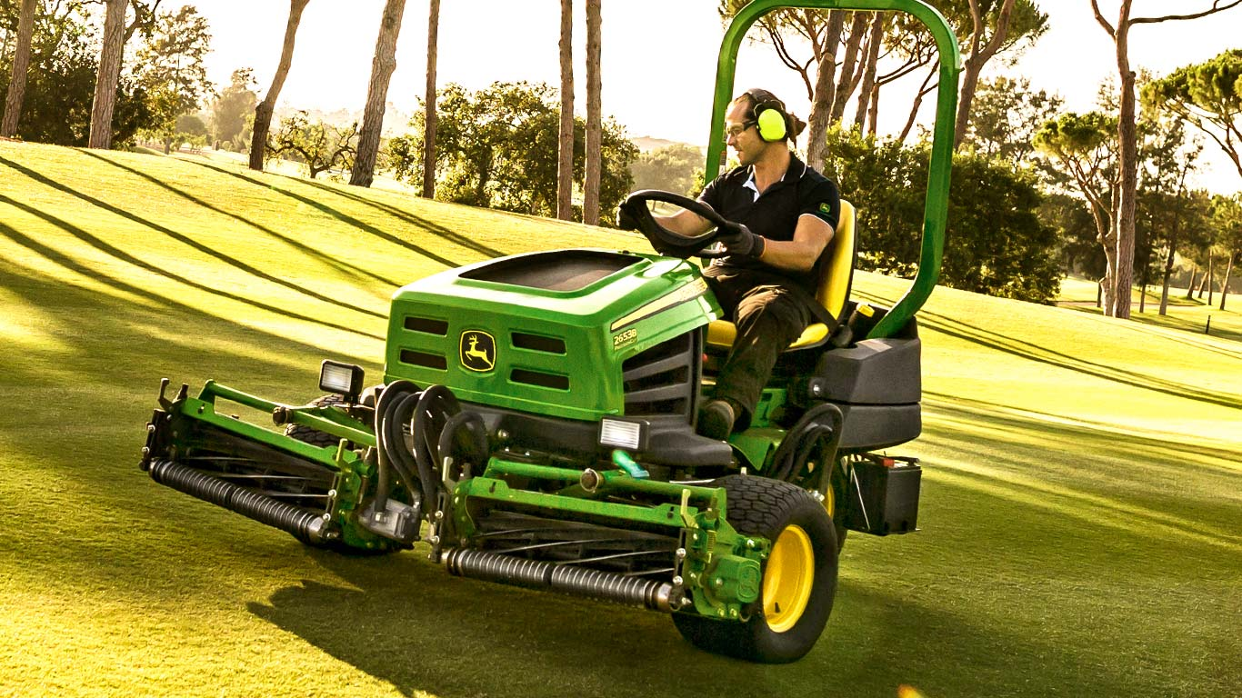 Triple Reel Mowers