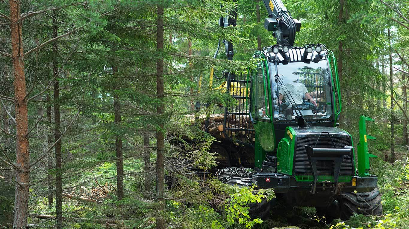 Used forest machines for sale can be found in MachineFinder