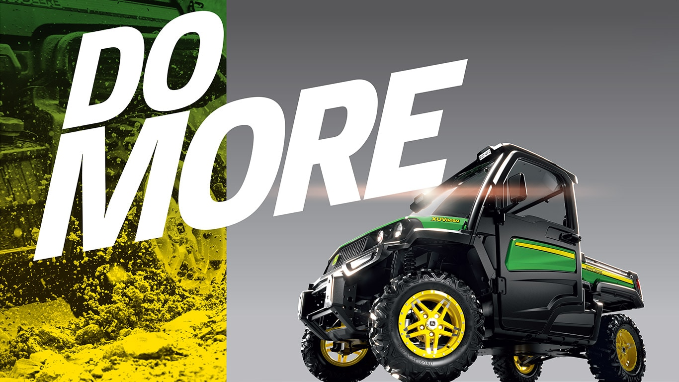 Here at John Deere, our goal is to enable you to do more of what matters.  That might mean more versatility for managing your property from A to Z.  More ...