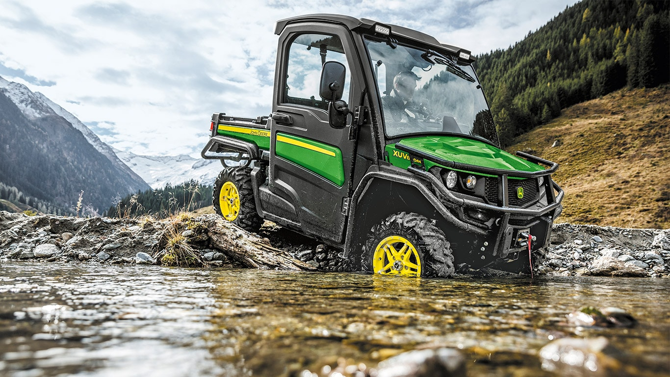 Gator Utility Vehicles, XUV865M, Fully Independent Suspension