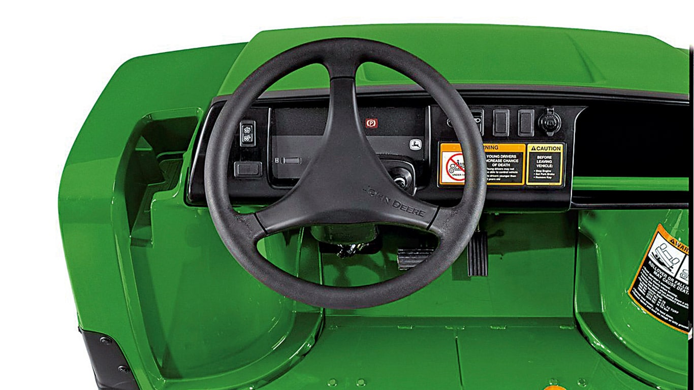 Gator Utility Vehicles, Intuitive Controls, Studio