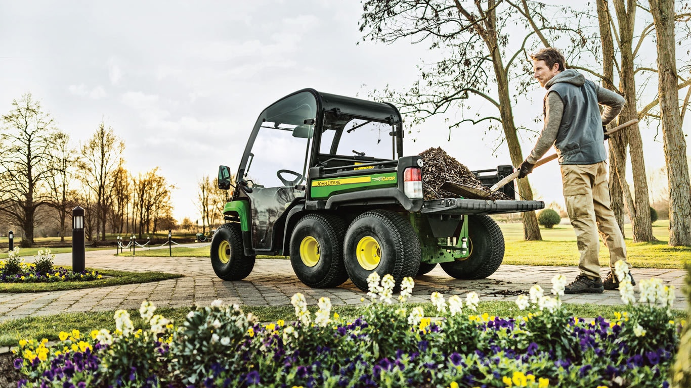 TOW MORE THAN YOU THOUGHT. The powerful yet economical diesel engine makes  the Gator TH 6x4 ...