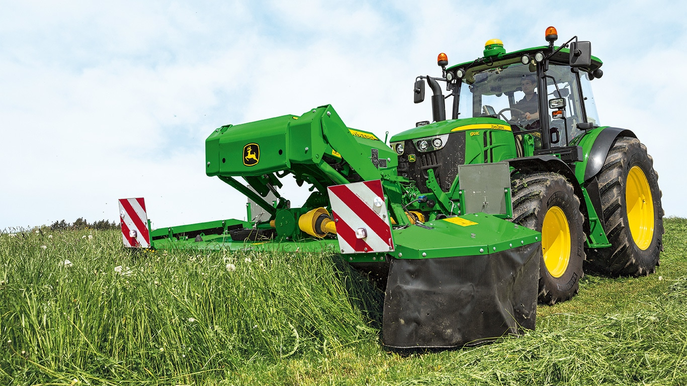 Gentle Agriculture Farming Tractor Grass Topper Heavy Equipment Attachments
