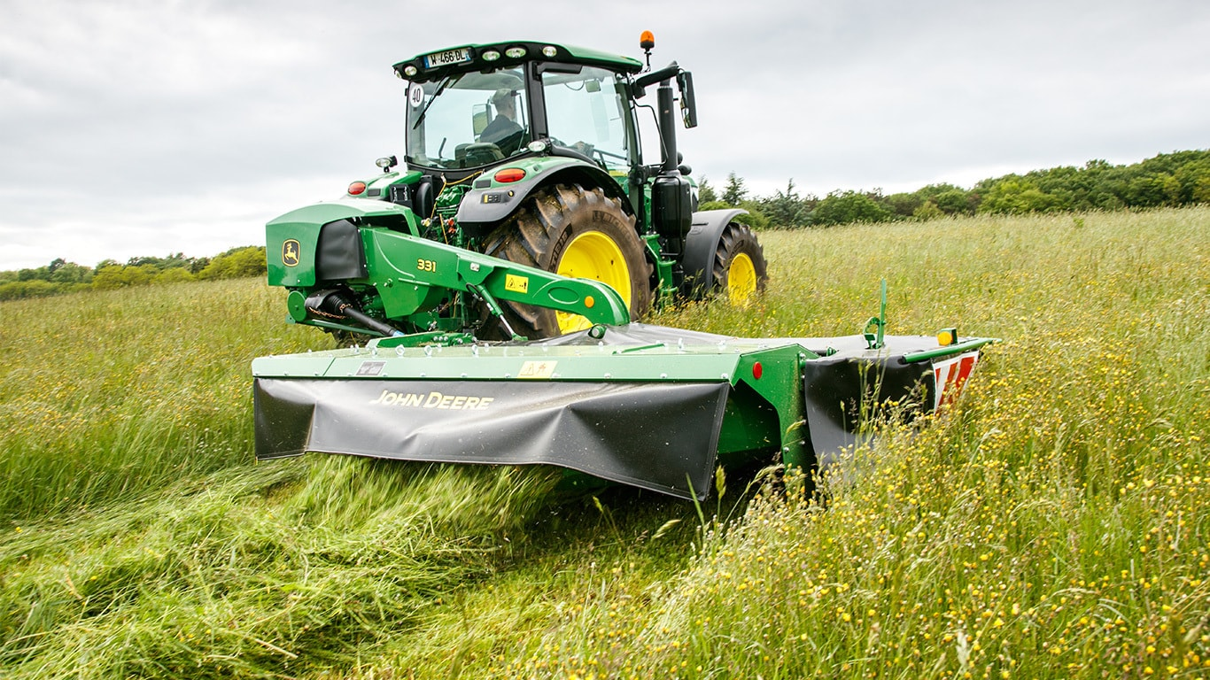 Rear mounted single 331Mower Conditioner