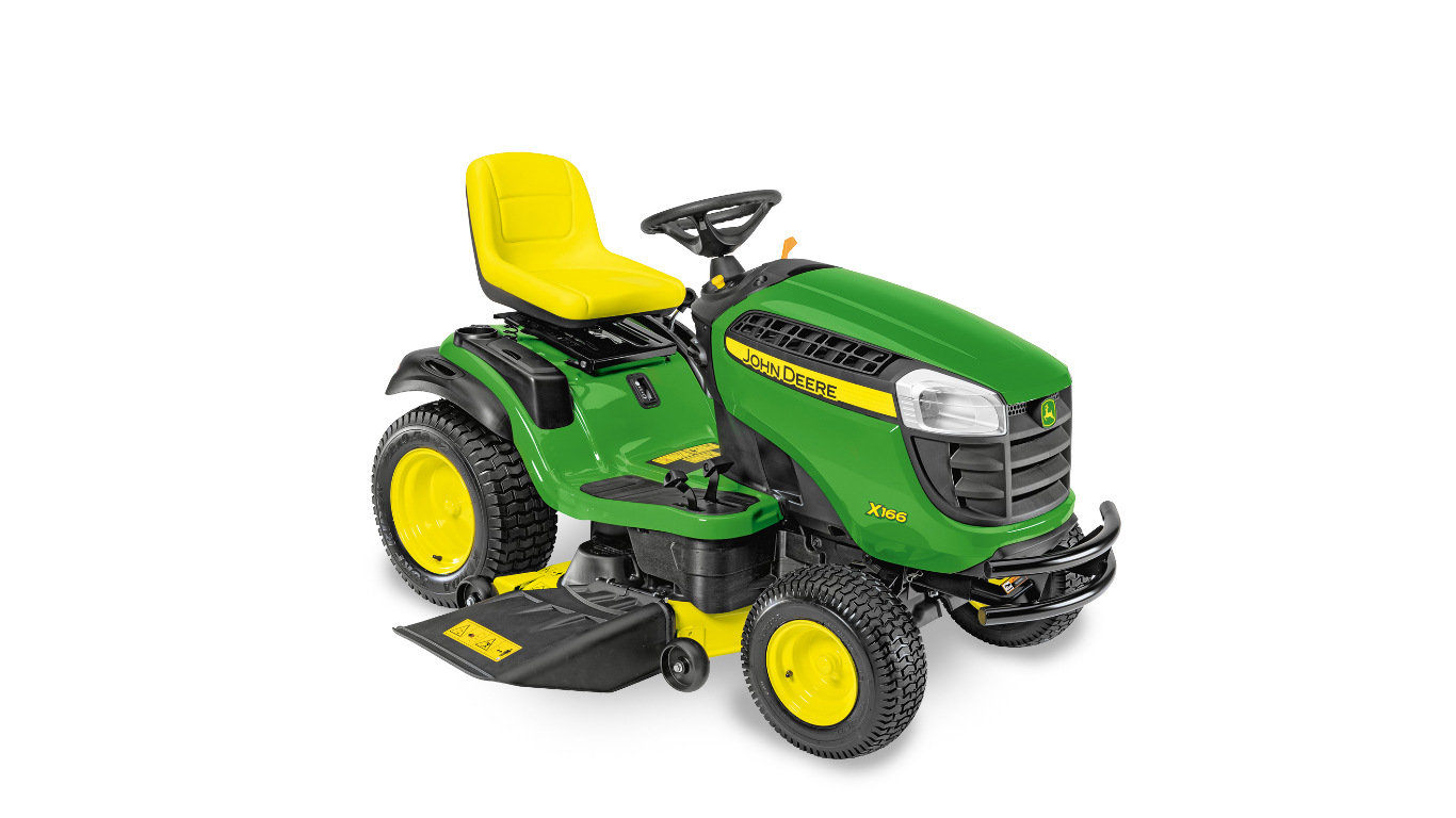 X166 Riding Lawn Equipment