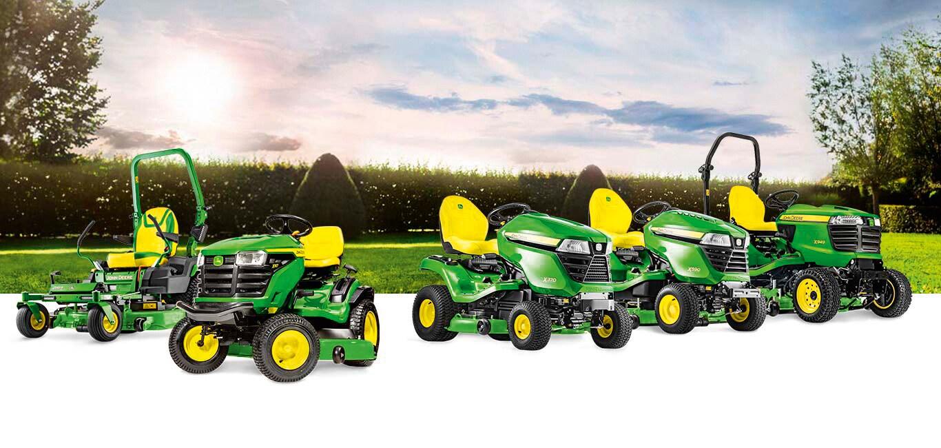 Landscape Riding lawn equipment