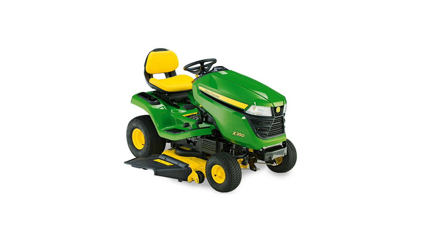 X350 Riding Lawn Equipment