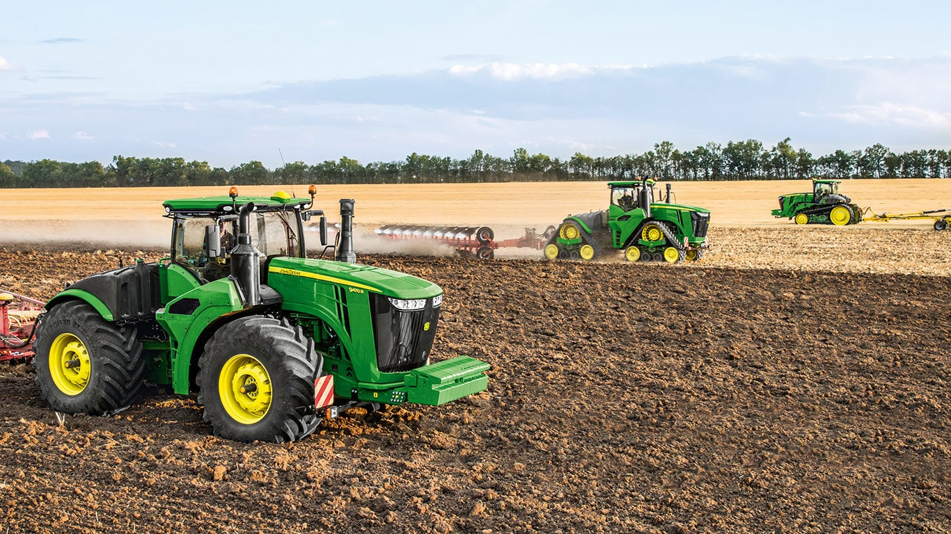 John Deere 9R, 9RT and 9RX Series: The Ultimate Power.