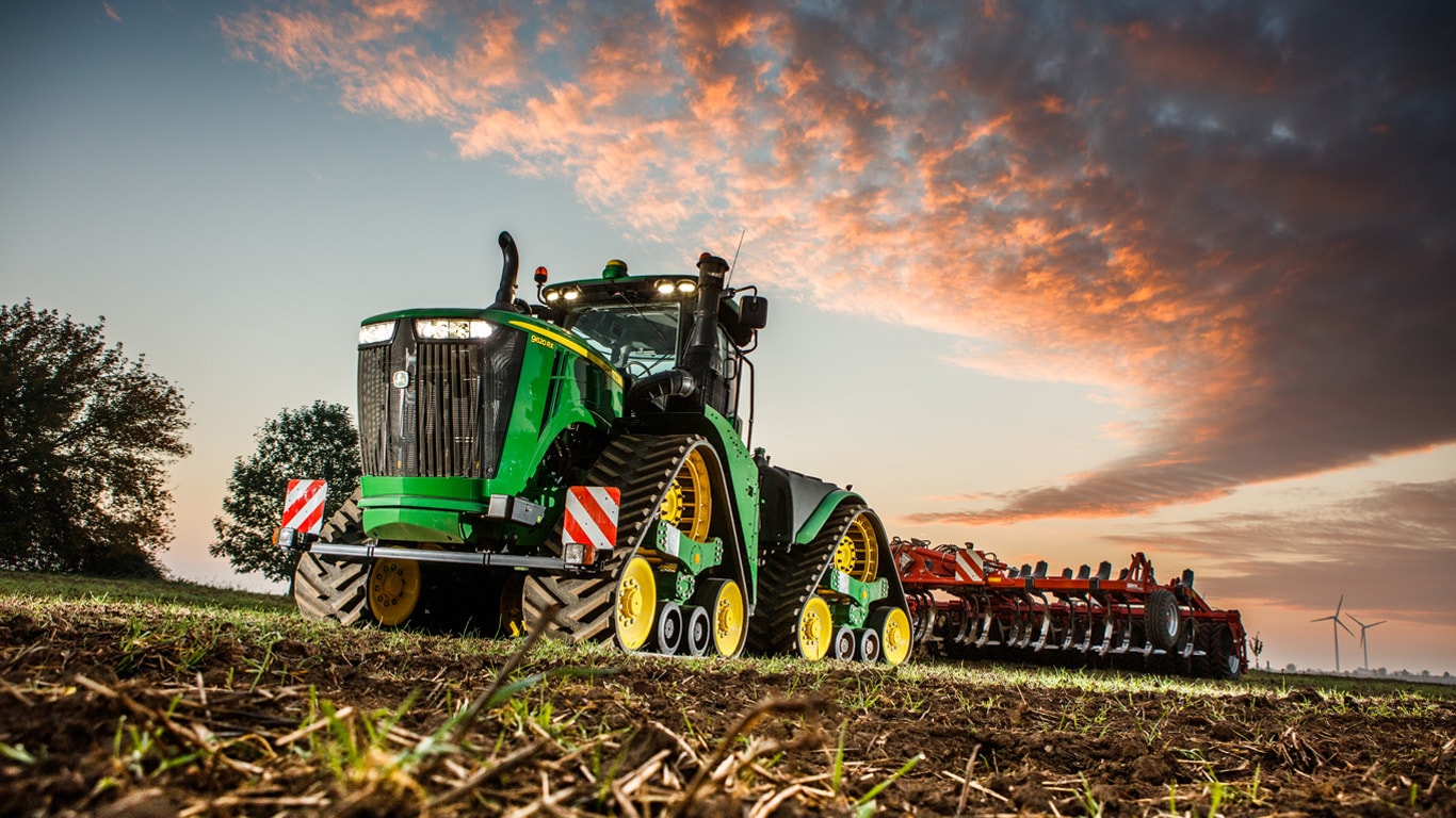 Tractors Agriculture John Deere Uk Amp Ie