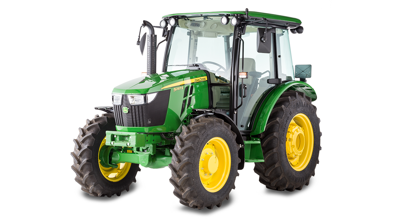 5E 3-Cylinder Series Tractors