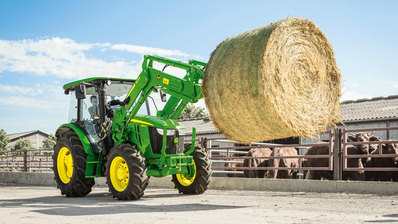 Tractors | Agriculture | John Deere UK & IE