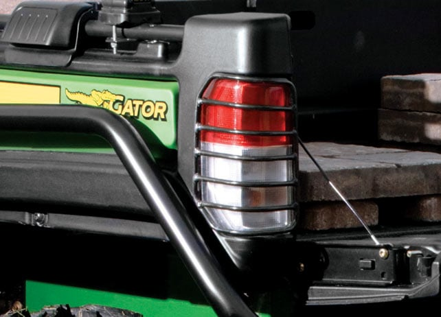 John Deere Gator Lights : John deere tail light protectors lights signals gator