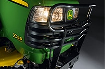 Front Brush Guard, X700 Series Tractor Protection & Appearance Attachment