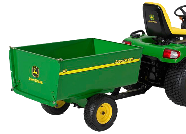 18 Utility Cart Yard & Lawn Care Attachment