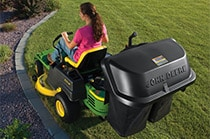 2-Bag Collection System (EZtrak) Yard & Lawn Care Attachment