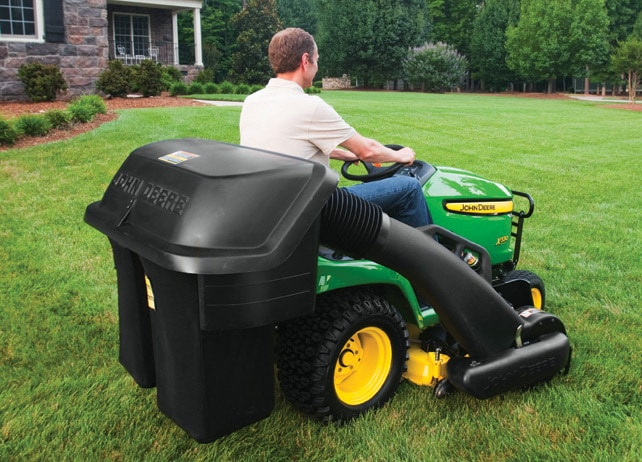 2-bag Power Flow Collection System Yard & Lawn Care Attachment