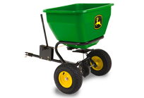 80-Kg Pull-Type Spin Spreader Yard & Lawn Care Attachment
