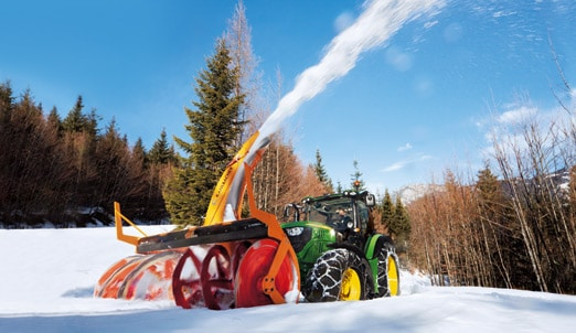 John Deere winter service machines
