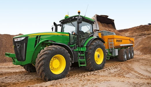 John Deere Machinery for the Construction Industry and Road Building