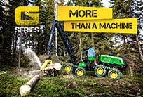 John Deere forest machines